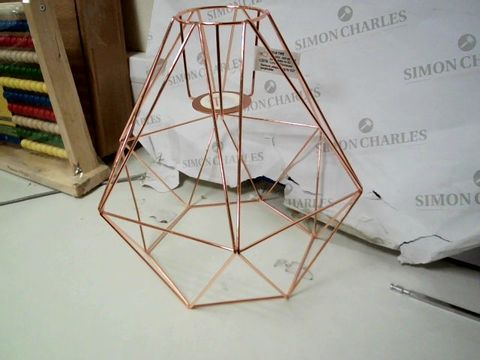 Lot 255 HARLOW LARGE COPPER DIAMOND EASY FIT SHADE RRP £34.99