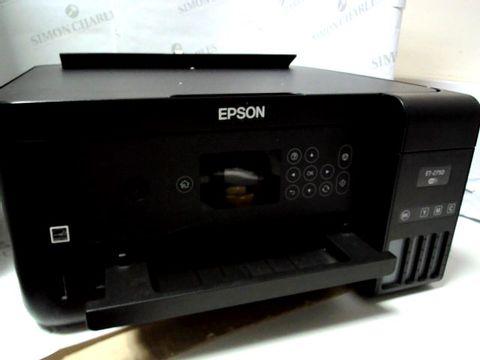 Lot 756 EPSON ET-2750 ECOTANK A4 PRINTER