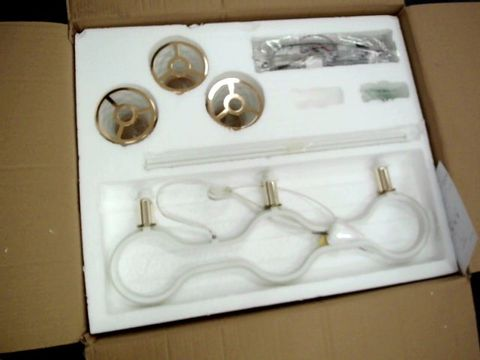 Lot 23 BOXED DESIGNER LED ROYAL LAMPS