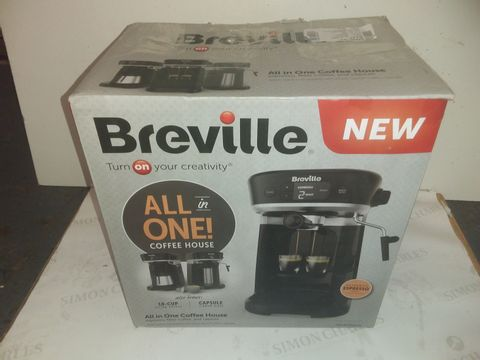 Lot 9115 BREVILLE ALL IN ONE COFFEE HOUSE MACHINE