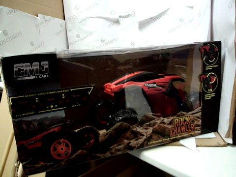 Lot 15080 1:12 SCALE REMOTE CONTROL MONSTER TRUCK CAR ADJUSTABLE - CHASSIS ORANGE RRP £43.99