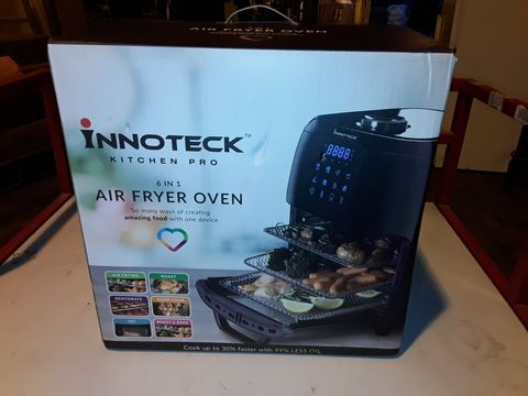 Lot 3145 BOXED INNOTECK KITCH PRO 1800W 12 LITRE AIR FRYER