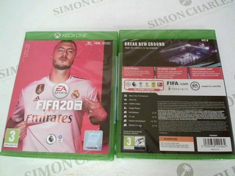 Lot 3415 BRAND NEW BOXED FIFA 20 GAME FOR XBOX ONE