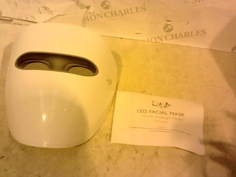 Lot 1697 LAB LED ANTI-AGEING FACE MASK SYSTEM WITH ELIXIR & MASK SELECTION