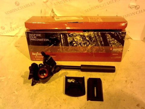 Lot 12425 MANFROTTO BEFREE LIVE FLUID HEAD