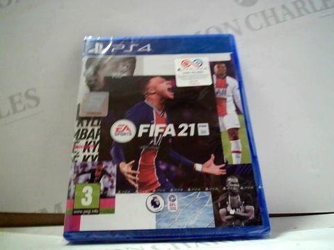 Lot 8009 FIFA 21 PLAYSTATION 4 GAME