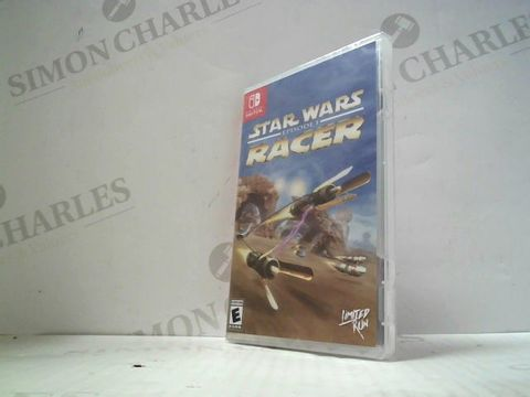 Lot 3023 STAR WARS EPISODE 1 RACER NINTENDO SWITCH GAME