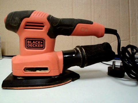 Lot 64 BLACK+DECKER BEW200-GB 200W 4-IN-1 MULTI-SANDER