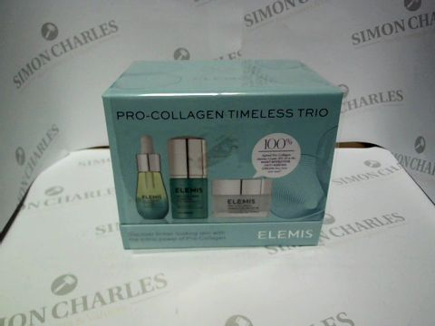 Lot 9192 ELEMIS PRO-COLLAGEN TIMELESS TRIO