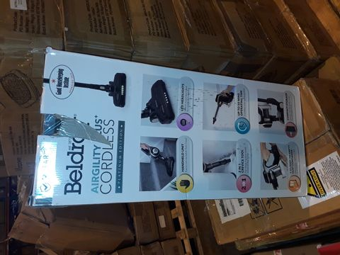 Lot 8348 BELDRAY AIRGILITY + CORDLESS VACUUM CLEANER