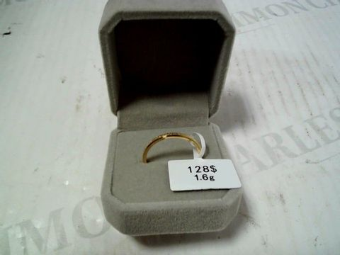 Lot 3169 DESIGNER GOLD TONE RING