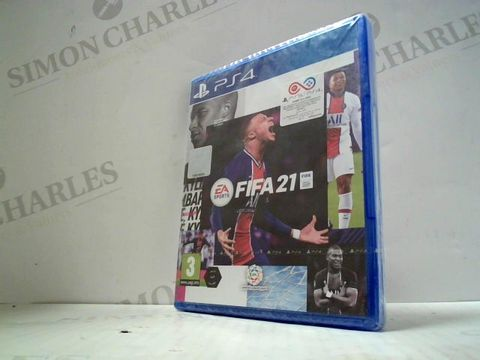 Lot 3025 FIFA 21 PLAYSTATION 4 GAME