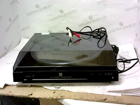 Lot 315 DUAL DT 210 USB G - FULLY AUTOMATIC TURNTABLE
