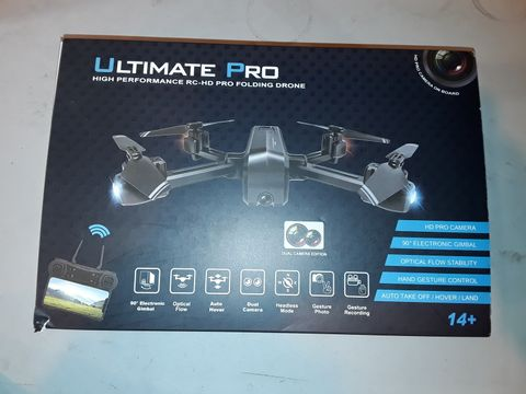 Lot 1082 ULTIMATE PRO HIGH PERFORMANCE FOLDING DRONE