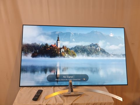Lot 29 LG 55 INCH OLED55B7V-ES OLED 4K ULTRA HD PREMIUM SMART TV