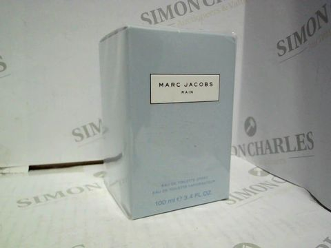 Lot 1238 BRAND NEW AND SEALED MARC JACOBS RAIN EDT 100ML