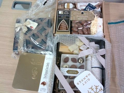 Lot 312  ASSORTED GIFT HAMPERS AND CHOCOLATES