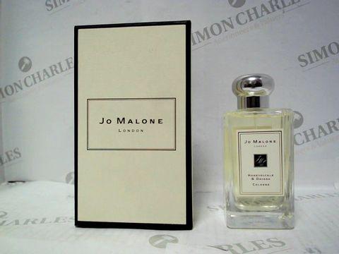 Lot 3055 JO MALONE HONEYSUCKLE & DAVANA COLOGNE 100ML