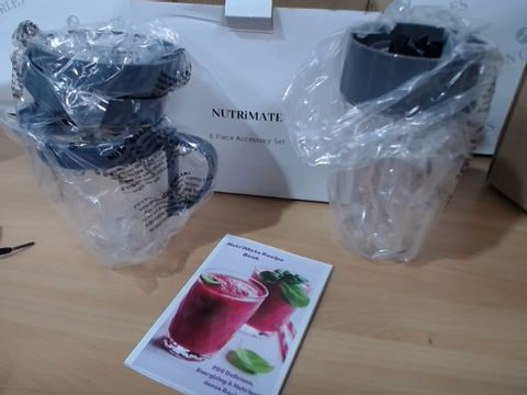 Lot 2073 NUTRIMATE 6 PIECE ACCESSORY SET