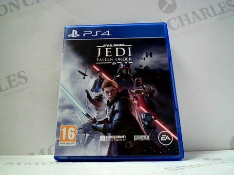 Lot 749 STAR WARS JEDI FALLEN ORDER FOR PS4