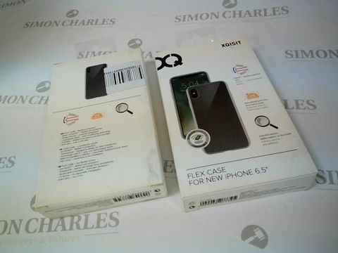 """Lot 2634 BOX OF 17 BRAND NEW BOXED XQISIT FLEX CASES FOR IPHONE 6.5"""""""