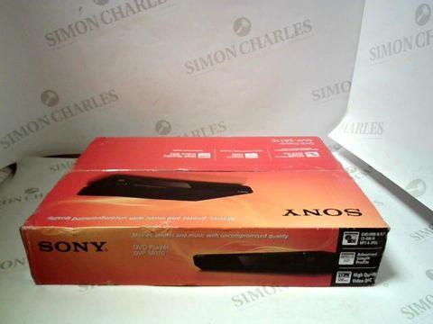 Lot 4051 SONY DVP-SR170 DVD PLAYER  RRP £52.00