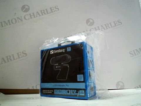 Lot 8047 SANDBERG USB WEBCAM PRO