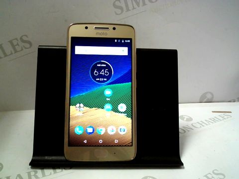 Lot 1108 MOTOROLA MOTO G5 16GB ANDROID SMARTPHONE
