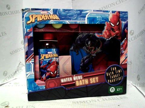 Lot 5242 SPIDER-MAN WATER WEBS BATH SET