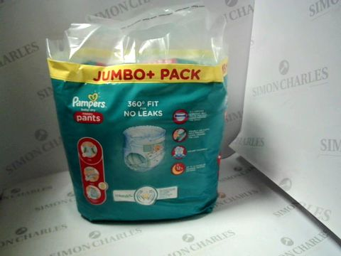Lot 7635 PAMPERS BABY-DRY NAPPY PANTS JUMBO+ PACK