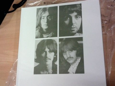Lot 451 THE BEATLES WHITE ALBUM 7CD BOXSET  RRP £194.99