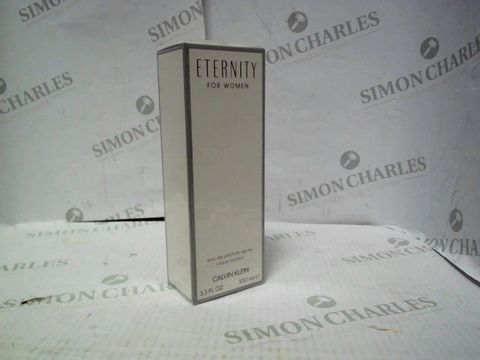 Lot 8086 BRAND NEW AND SEALED CALVIN KLEIN ETERNITY EDP 100ML