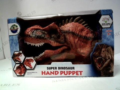 Lot 127 SUPER DINOSAUR HAND PUPPET