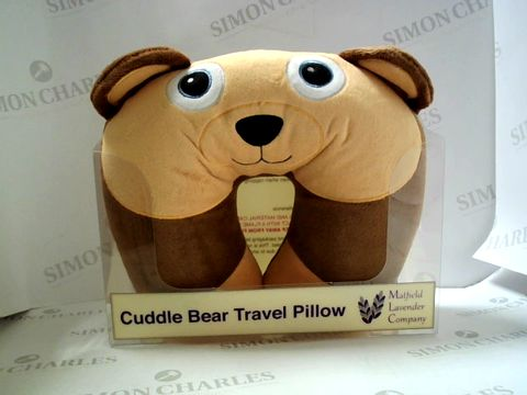 Lot 7503 MAYFIELD LAVENDER COMPANY CUDDLE BEAR TRAVEL PILLOW