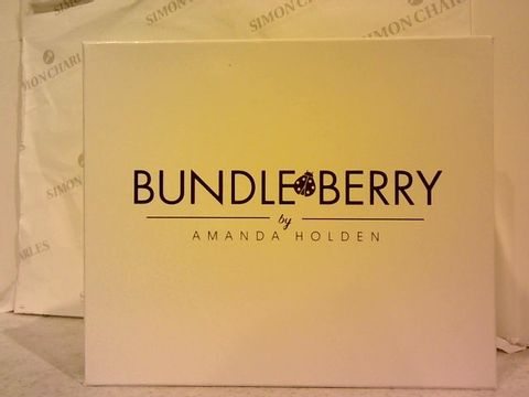 Lot 205 BUNDLEBERRY BY AMANDA HOLDEN SET OF 4 MUGS WITH GIFT BOX