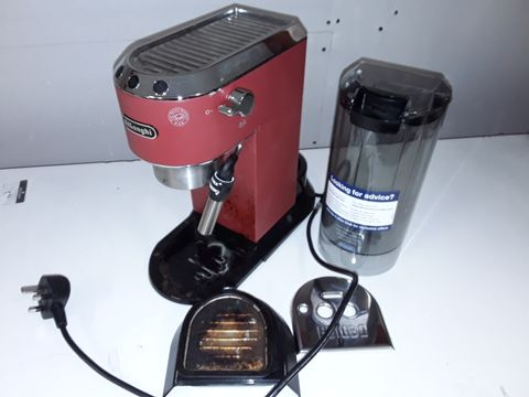 Lot 1118 DELONGHI DEDICA STYLE ESPRESSO AND CAPPUCCINO COFFEE MAKER
