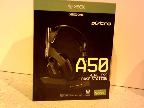 Lot 11668 ASTRO GAMING A50 WIRELESS GAMING HEADSET + CHARGING BASE STATION