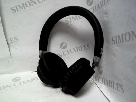 Lot 7088 KITSOUND HARLEM WIRELESS BLUETOOTH ON-EAR HEADPHONES WITH MIC - BLACK
