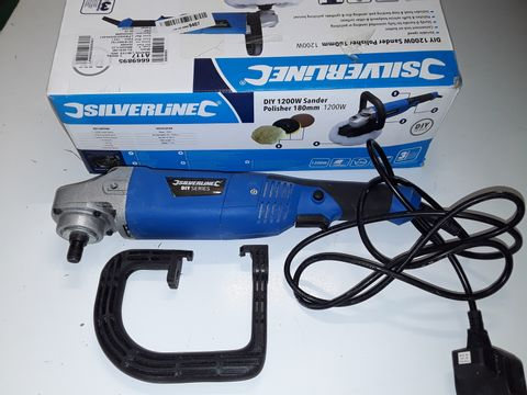 Lot 5126 SILVERLINE 1200W SANDER POLISHER