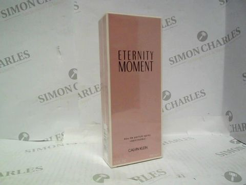 Lot 3047 BRAND NEW AND SEALED CALVIN KLEIN ETERNITY MOMENT EDT 100ML