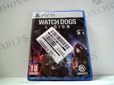 Lot 727 WATCHDOGS LEGION FOR PS5