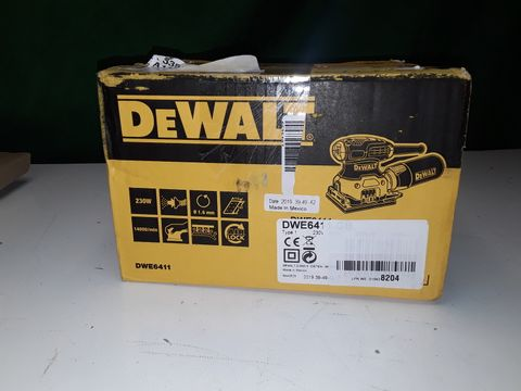 Lot 237 DEWALT DWE641 SANDER