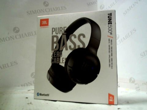 Lot 178 JBL HARMAN TUNE 500BT WIRELESS HEADPHONES