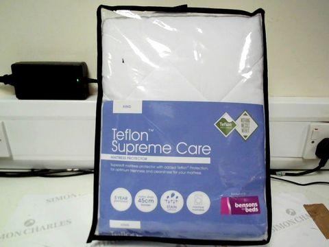 Lot 4735 BENSONS FOR BEDS TEFLON SUPREME CARE KING SIZE