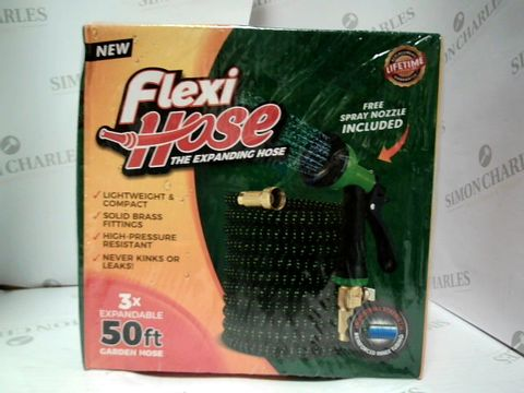 Lot 17624 FLEXI HOSE - 50FT GARDEN HOSE X3 EXPANDABLE
