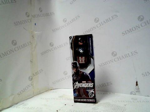 Lot 105 MARVEL AVENGERS ENDGAME CAPTAIN AMERICA ACTION FIGURE