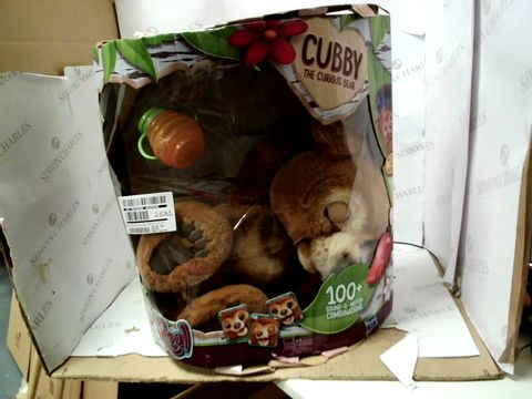 Lot 15062 FURREAL FRIENDS FURREAL CUBBY, THE CURIOUS BEAR INTERACTIVE PLUSH TOY RRP £124.99