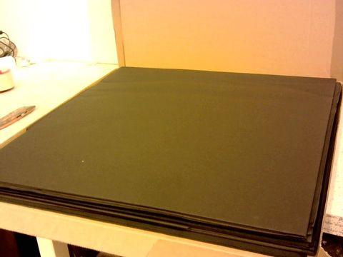 Lot 10115 DUNI EVOLIN ROUND TABLECOVERS BLACK x30