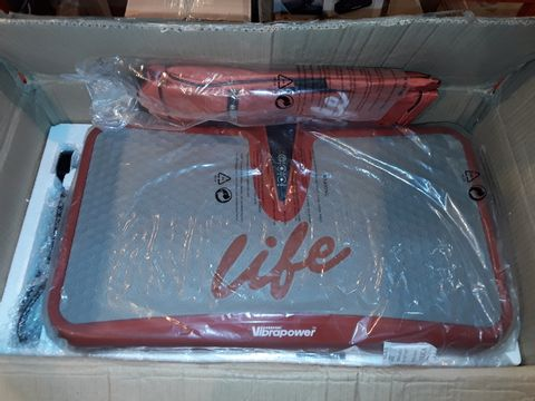 Lot 1136 VIBRAPOWER LIFE EXERCISE MACHINE - RED