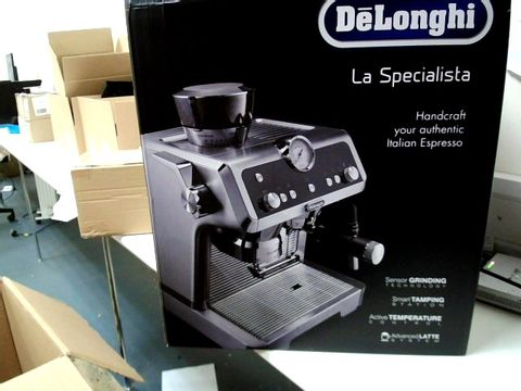 Lot 335 DELONGHI LA SPECIALISTA PUMP ESPRESSO COFFEE MACHINE RRP £919.99